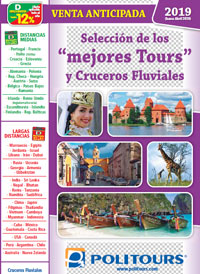 2019-20 Tours y cruceros fluviales